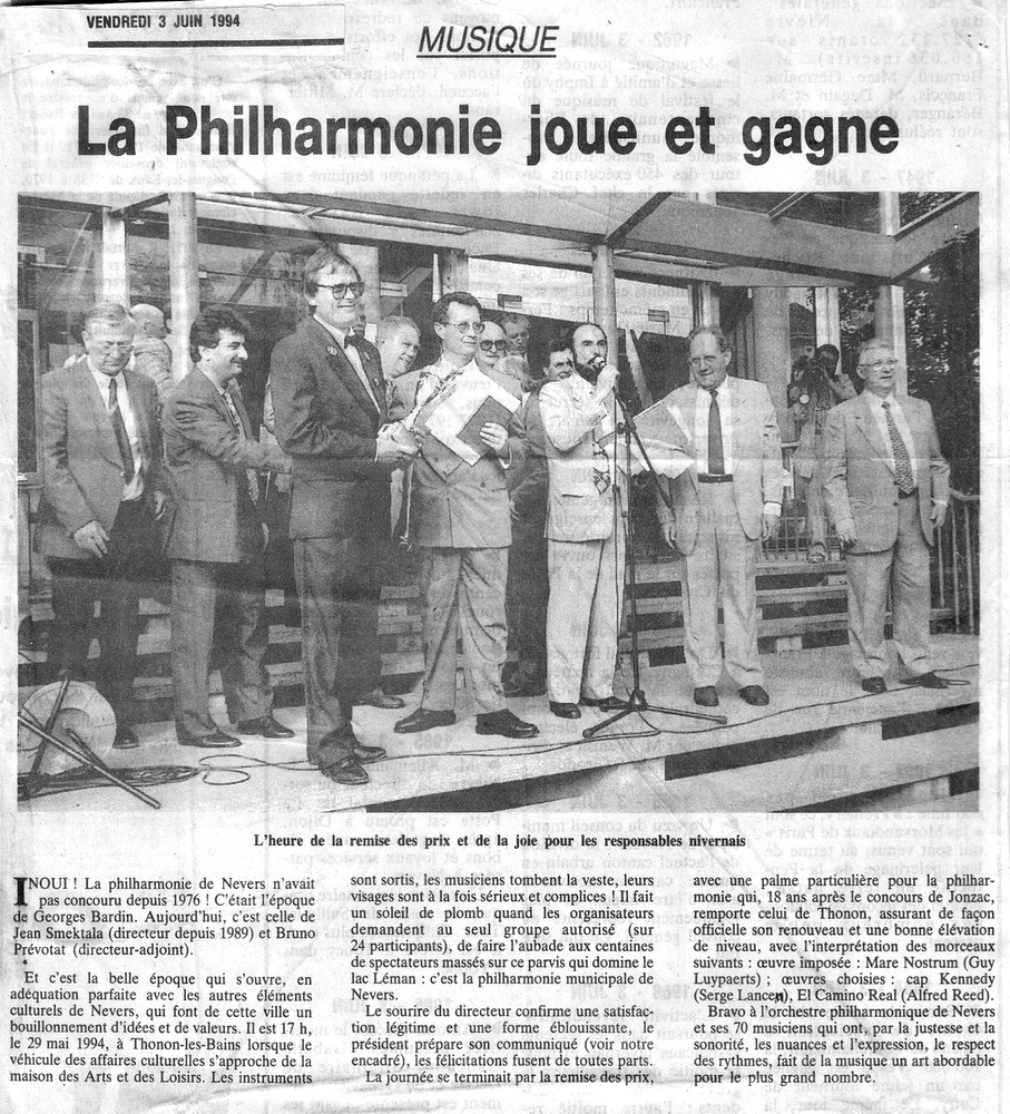 Concours thonon 1994