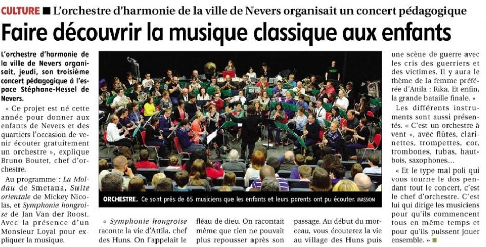 Concert pédagogique 8 mai 2014